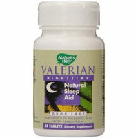 Nature's Way Valerian Nighttime Tablets, 50 CT