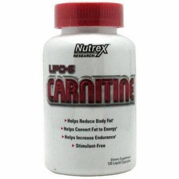 Nutrex LIPO-6 Carnitine, 120 CT