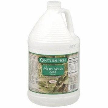Natural High Aloe Vera Juice, 1 GAL (Pack of 4)