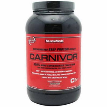 Muscle Meds Carnivor, Chocolate, 2.3 LB