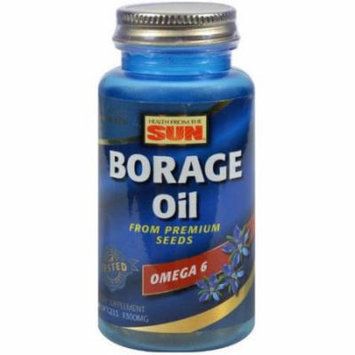 Health From The Sun Borage Oil Softgels, 30 CT