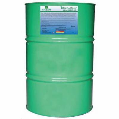 RENEWABLE LUBRICANTS 87276 Food Grade Gear Oil,55 Gal G9927827
