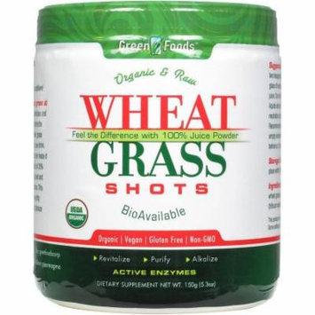 Green Foods Wheat Grass Shots Organic and Raw, 5.3 FL OZ