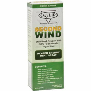 OxyLife Second Wind Oral Spray, 2 OZ