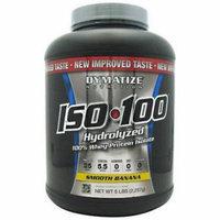 Dymatize Iso-100, Smooth Banana, 5 LB