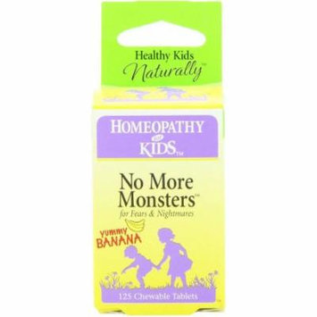 Herbs For Kids No More Monsters, Chewable Tablets, 125 CT