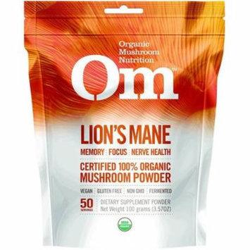 Mushroom Matrix Lion's Mane Powder Drink Mix, Organic, 3.57 OZ