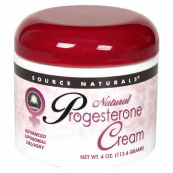 Source Naturals Natural Progesterone Cream, 4 Ounce (113.4 g)