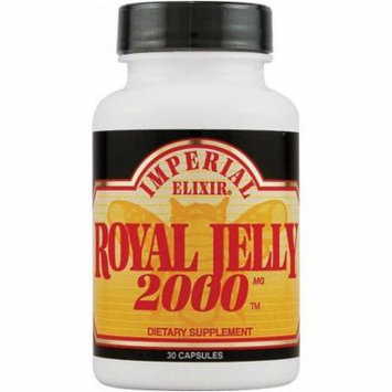 Imperial Elixir Royal Jelly 2000mg, 30 CT