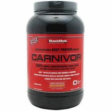 Muscle Meds Carnivor, Peanut Butter, 2.3 LB