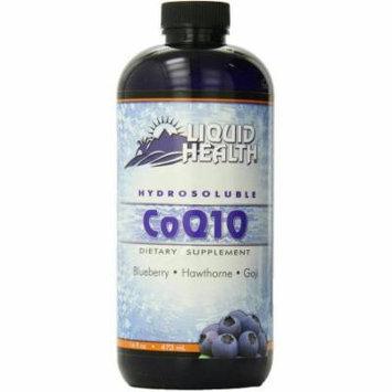 Liquid Health Hydrosoluble CoQ10, Blueberry, Howthorne & Goji, 16 FL OZ