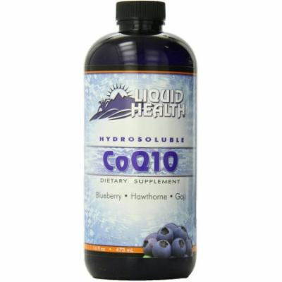 Liquid Health Hydrosoluble CoQ10, Blueberry, Howthorne & Goji, 16 FL OZ