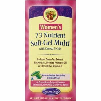 Nature's Secret Women's Nutrient Soft-Gel Multi Vitamin, 60 CT