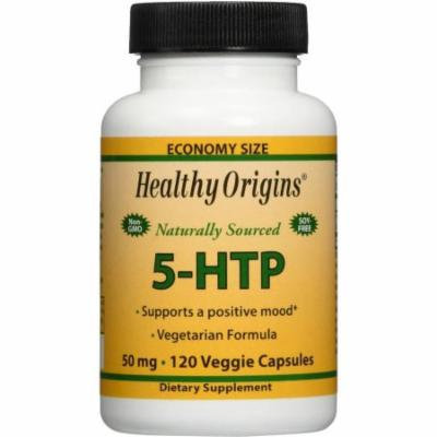 Healthy Origins 5-HTP, Naturally Sourced, 50mg, 120 CT