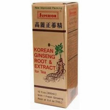 Superior Trading Ginseng Root & Extract Liquid, 10 FL OZ