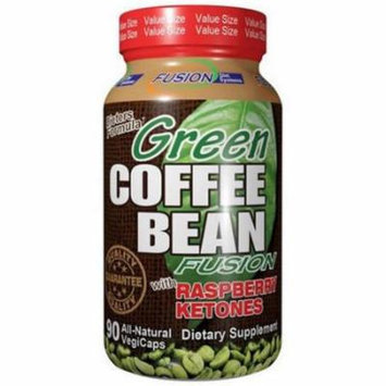 Fusion Diet Systems Green Coffee with Raspberry Ketones, 90 CT