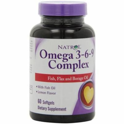 Natrol Omega 3-6-9 Complex, 60 CT