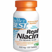 Doctor's Best Niacin Ext Release 500mg, 120 CT