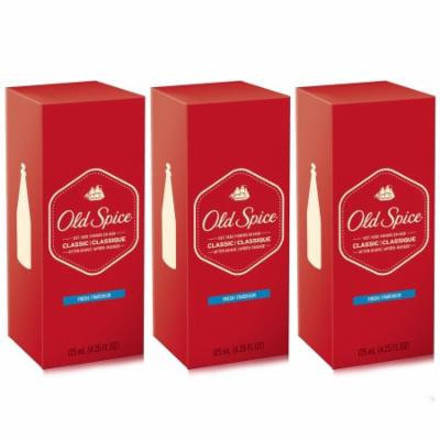 Old Spice Classic Scent 4.25-ounce After Shave Lotion (Pack of 3)