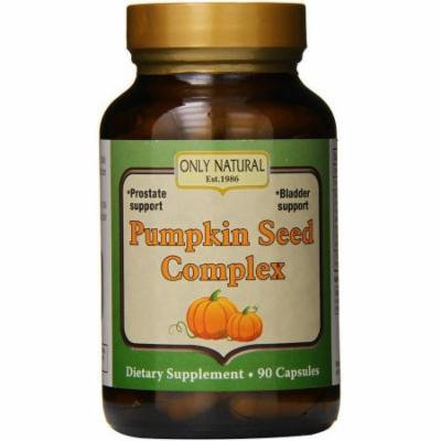 Only Natural Pumpkin Seed Complex Capsules, 90 CT