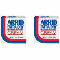 Arrid Extra Dry Anti-Perspirant & Deodorant Cream - 1 oz (Pack of 2)