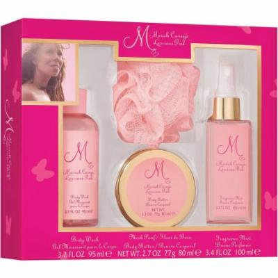 Mariah Carey Luscious Pink Bath for Women, 4 pc