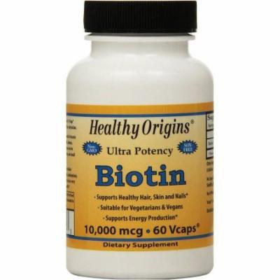 Healthy Origins Biotin Vegetarian Capsules, 60 CT