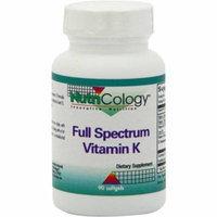 Nutricology Full Spectrum Vitamin K, 90 CT