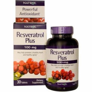 Natrol Antioxidants Resveratrol Plus Tablets, 30 CT