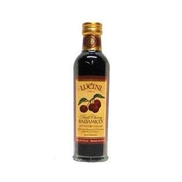 Lucini Italia Dark Cherry Infused Gran Balsamic Vinegar -- 1 bottle containing 8.5 fl oz