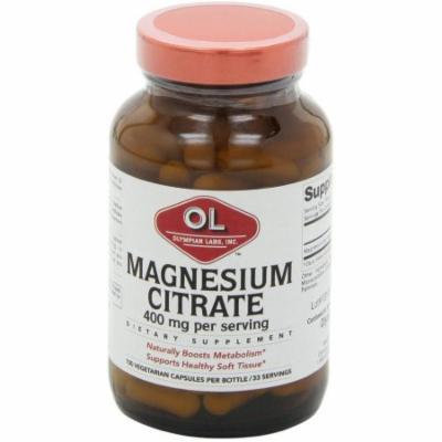 Olympian Labs Magnesium Citrate, 100 CT