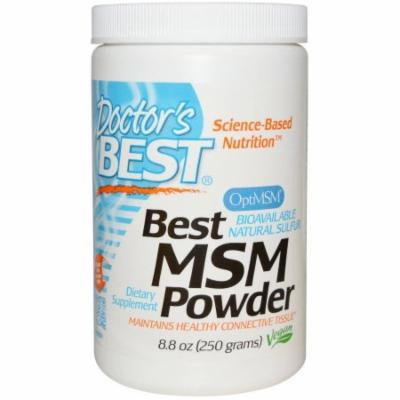 Doctor's Best MSM Powder 1000mg, 250 GM