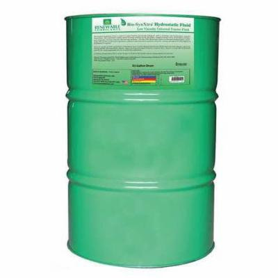 RENEWABLE LUBRICANTS 81306 Hydraulic Oil,Tote,Yellow,55 gal. G2224096