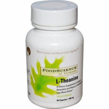 Food Science L-Theanine Capsules, 60 CT