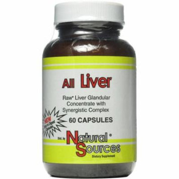 Natural Sources All Liver Capsules, 60 CT