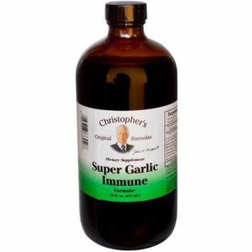 Christopher's Original Formulas Super Garlic Immune Formula, 16 OZ