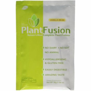 Plantfusion Multi Source Plant Protein Vanilla Bean, 12 CT