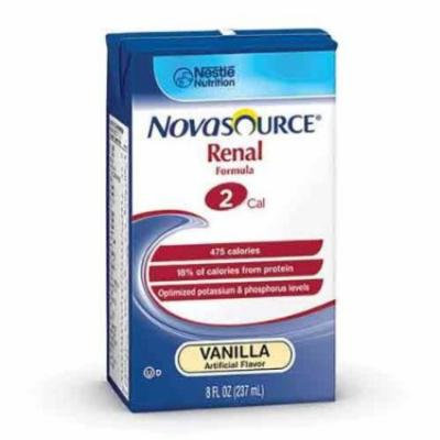 Novasource Renal Nutritional Support Vanilla Flavor Liquid 8 oz. Brik Pak