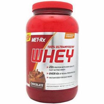 Met-Rx 100% Ultramyosyn Whey, Chocolate, 2 LB