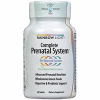 Rainbow Light Complete Prenatal System, Organic, 60 CT