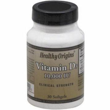 Healthy Origins Vitamin D3 Softgels, 30 CT