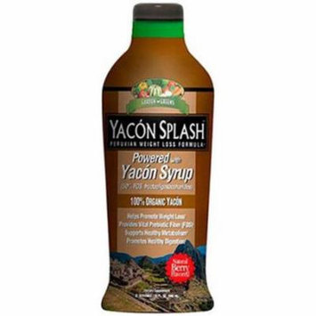 Garden Greens Yacon Splash Weight Loss Syrup, 30 FL OZ