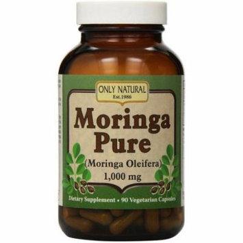 Only Natural Moringa Pure Vegetarian Capsules, 90 CT
