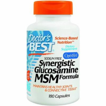 Doctor's Best Synergistic Glucosamine & MSM, 180 CT