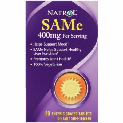 Natrol SAMe Tablets, 20 CT