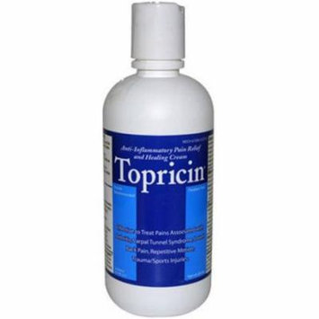Topricin Pain Cream, 8 OZ