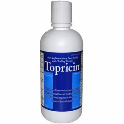 Topricin Pain Cream, 8 OZ