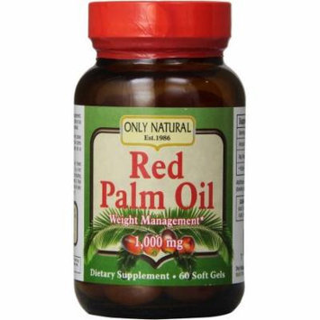 Only Natural Red Palm Oil Soft Gel, 60 CT