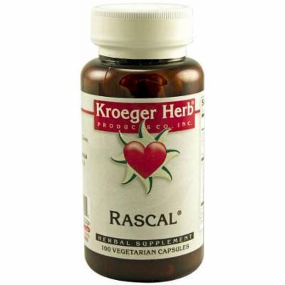 Kroeger Herb Rascal, Vegetarian Capsules, 100 CT