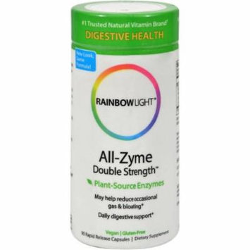 Rainbow Light All-Zyme Double Strength Vegetarian Capsules, 90 CT